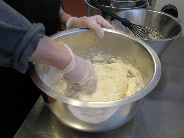 Leivän teko